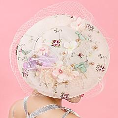 טול שיפון תחרה בד רשת כיסוי ראש-חתונה אירוע מיוחד יום הולדת מסיבה\אירוע ערב קישוטי שיער כובעים קליפס לשיער חלק 1