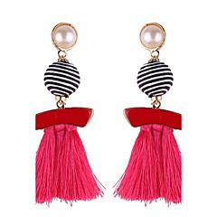 Femme Boucles d'oreille goutte Bijoux bijoux de fantaisie Perle Rose Bijoux Pour Anniversaire Autre Quotidien Décontracté Soirée