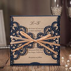 Zamotajte & Pocket Vjenčanje Pozivnice 20-Pozivnice Classic Style Reljefni papir