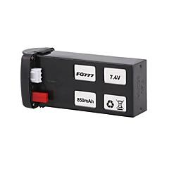 batteri Rc Kvadrokoptere Metallisk 1pc
