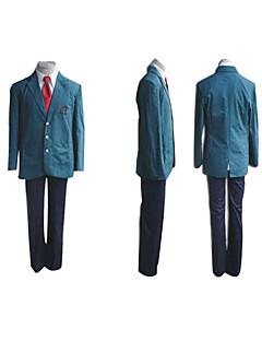 Inspired by Suzumiya Haruhi Itsuki Koizumi Anime Cosplay Costumes Cosplay Suits / School Uniforms Patchwork Blue Long SleeveCoat / Shirt