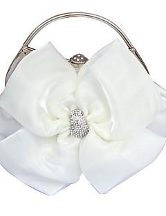 bellissime borse da sera in raso / borse maniglia superiore più colori disponibili