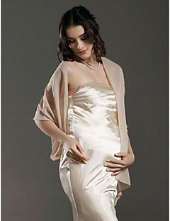 mariée en mousseline de soie / fête / soirée châle de couleurs plus disponibles
