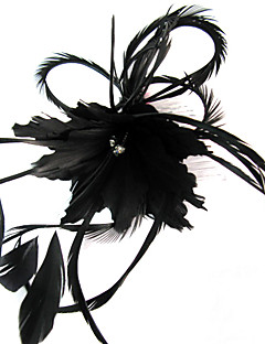 נשים נוצה כיסוי ראש-חתונה אירוע מיוחד קז'ואל חוץ קישוטי שיער פרחים