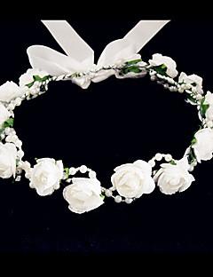 Mulheres / Menina das Flores Espuma Capacete-Casamento / Ocasião Especial / Casual Flores