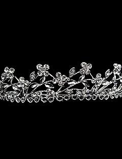 Mulheres Liga Capacete-Casamento / Ocasião Especial Tiaras Branco