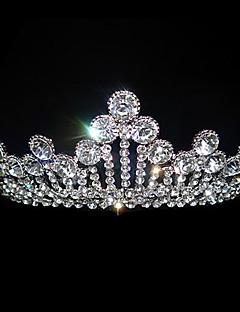 Vrouwen Licht Metaal Helm-Bruiloft / Speciale gelegenheden Tiara's Wit