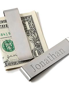 подарок дружки персонализированные мужская Основы зажим для денег