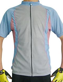 jaggad - 50% polyester och Coolmax mens kort ärm cykeltröja