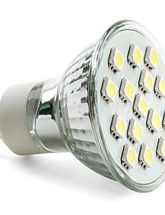 3W GU10 Spot LED MR16 15 SMD 5050 200 lm Blanc Naturel AC 100-240 V