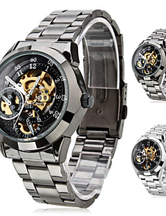 SHENHUA® Men's Premium Alloy Style Analog Mechanical Wrist Watch (Assorted Colors) Cool Watch Unique Watch Fashion Watch