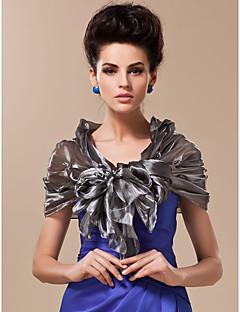 rayon med blomster og perler spesiell anledning / bryllup sjal (flere farger tilgjengelig)