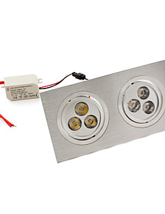 W 6 High Power LED 540 LM Warm White Recessed Retrofit Recessed Lights/Ceiling Lights AC 85-265 V