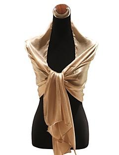 elegant silke bryllup / spesiell anledning skjerf / sjal (flere farger)