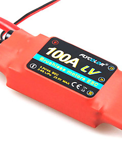 Flycolor 100A 6S ESC for Airplane with Brushless Motor (Random Colors)