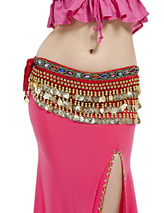 Belly Dance Belt Women's Performance Polyester Beading / Coins 1 Piece Hip Scarf