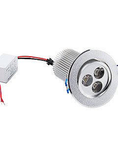 9 W 3 High Power LED 900 LM Warm White Ceiling Lights AC 85-265 V