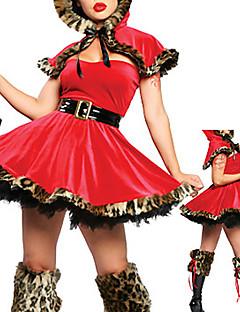 Red Riding Hood traje das mulheres sensuais (3 peças)