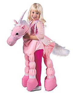 corsa rosa un costume bambino unicorno (5-7 anni)