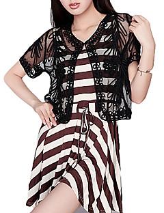레이스 저녁 재킷 (더 많은 색상) 볼레로 어깨를 으쓱와 짧은 소매의 얇은 명주 그물