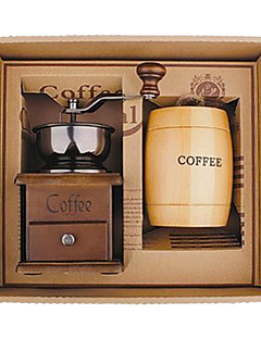 Coffee Series Boxed Gift (Moka & Siphon Pot, Grinder, Cups) T-202