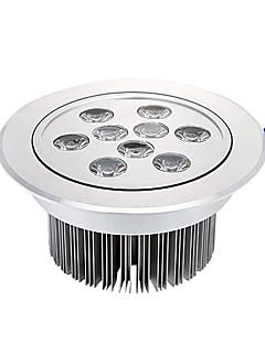 9x1W 945LM 3000-3500K Varm hvid LED Loft Lampe (220V)
