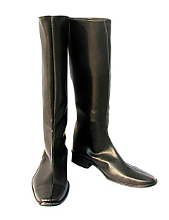 Knights of the Round Table Black Cosplay Boots