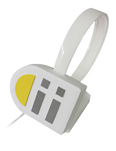 Cosplay Accessories Inspired by Vocaloid Kagamine Len Anime/ Video Games Cosplay Accessories Headphones Silver PVC Male