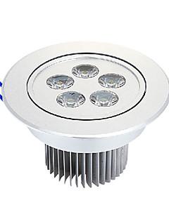 5 Loftslamper (Warm White 525 lm- AC 220-240