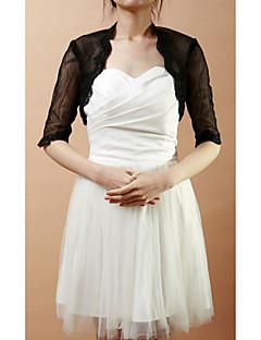 halv ærme blonder& netto bryllup / aften aften jakke / wrap (flere farver) bolero skuldertræk