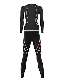 SANTIC® Cycling Jersey with Tights Women's Long Sleeve Bike Breathable / Thermal / WarmTights / Pants/Trousers/Overtrousers / Jersey /