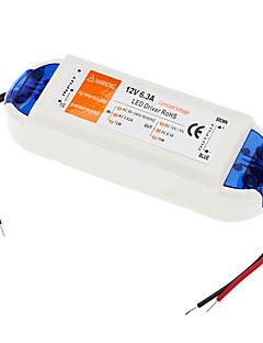 Convertitore di voltaggio LED, AC 110-240V to DC 12V 72W