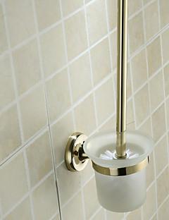 TI-PVD vægbeslag toilet børste (1018-j-80-4)