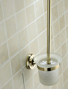Ti-PVD Wall Mount Toilet Brush Holder(1018-J-80-4)
