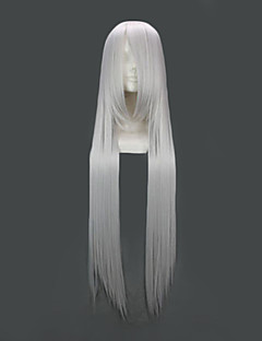 Cosplay Wigs Fate/Zero Irisvie von Einzbern Silver Long Anime Cosplay Wigs 100 CM Heat Resistant Fiber Female