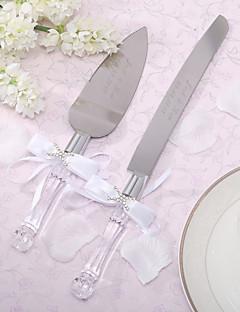 Servieren Sets Hochzeitstorte Messer personalisierten Kuchenmesser und Server-Set