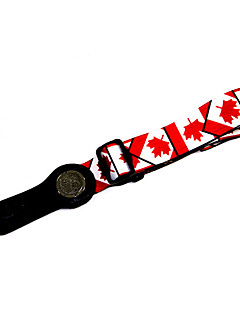 Soldier - (Canada Flag) Printing Nylon Fabric Guitar Strap