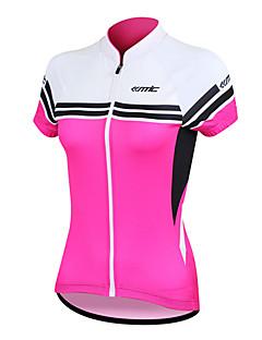 SANTIC® Camisa para Ciclismo Mulheres Manga Curta MotoRespirável / Secagem Rápida / Design Anatômico / Resistente Raios Ultravioleta /