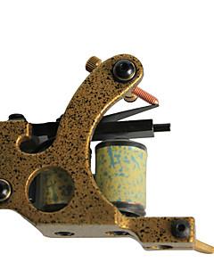 professionele gietijzer 10-wrap spoel tattoo machine shader