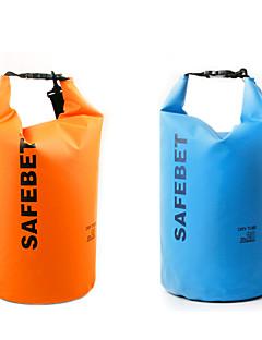 5 L עמיד למים יבשים תיק צהוב / ירוק / שחור / כתום / פוקסיה