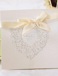 Cartes d'invitation Invitations de mariage Pli Parallèle Horizontal Non personnalisés 50 Pièce/Set