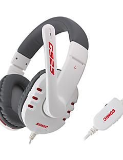 somic G923 auriculares del en-oído con el mic, remotefor ipod ipad