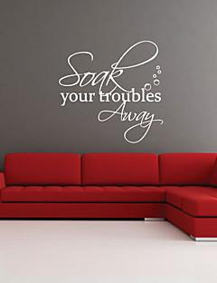Suge dine problemer væk Wall Sticker