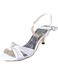 Women's Wedding Shoes Heels Sandals Wedding Ivory/White