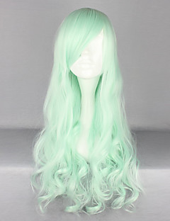Lolita Wigs Sweet Lolita Lolita Long Light Green Lolita Wig 70 CM Cosplay Wigs Solid Wig For Women