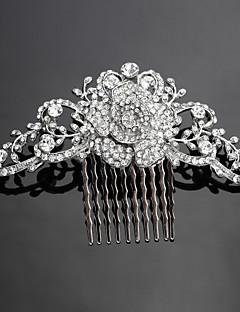 נשים סגסוגת כיסוי ראש-חתונה אירוע מיוחד מסרקי שיער