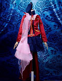 traje de cosplay inspirado en Macross Frontier Sayonara no Tsubasa versión final. sheryl nome