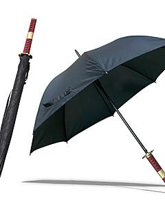Roronoa Zoro Three Sword Style Sandai Kitetsu Samurai Umbrella Sword (Black)