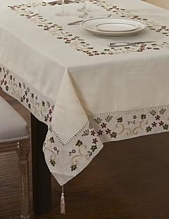Berry Feuilles rectangulaire coton Linge de table Mélange Tissu