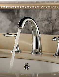 Bådeværelsesvask Vandhaner - Moderne - DI Messing Krom)